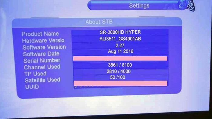 SR-2000HD Hyper To TIger T6 Tanberg Full OK By Dr Timor