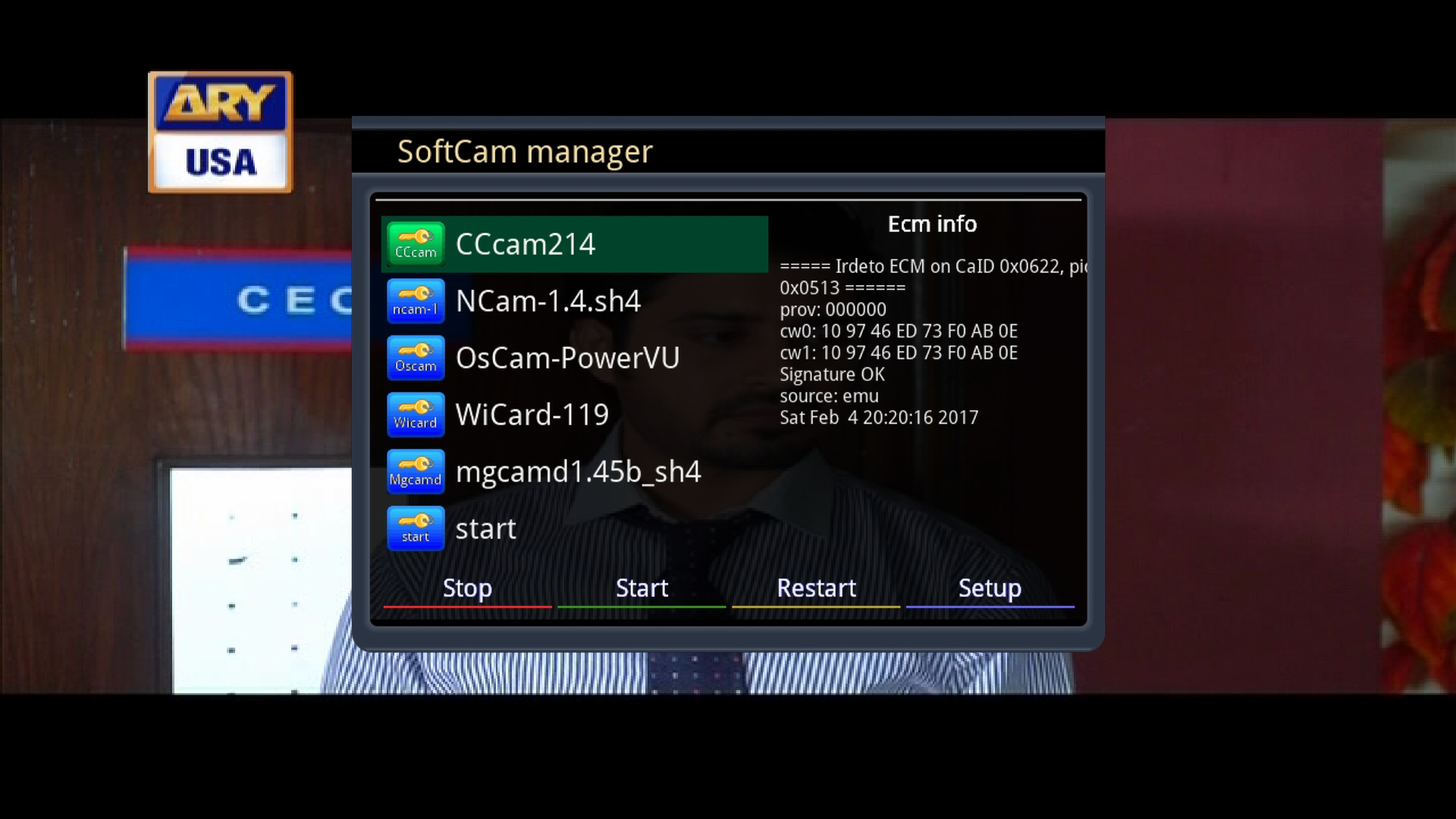 Dreambox Softcam Install - vinolost