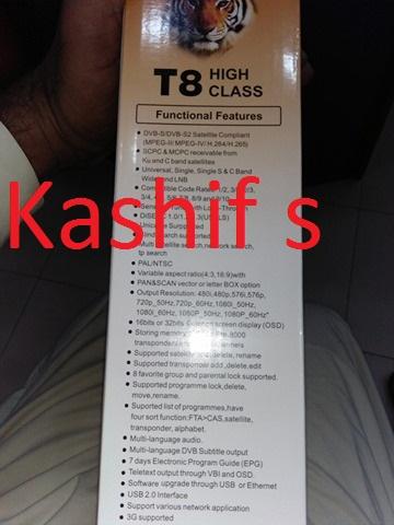 My New receiver tiger t8 high class=== - Golden Multimedia Forum