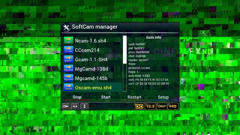 Expert i Want Oscam-svn11390 Cam For Videocon line - Golden