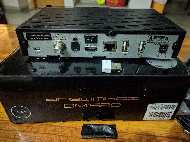 Just bought Dreambox DM520 - Golden Multimedia Forum