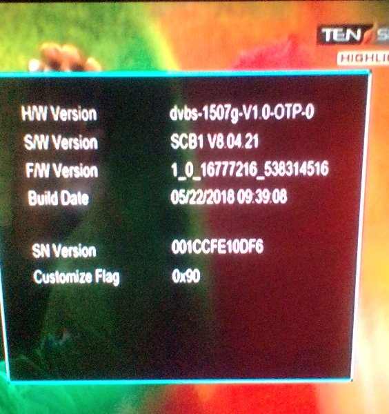 Another 1506g,1507g new software every thing ok sony audio