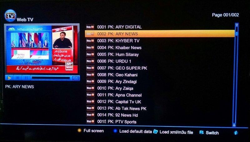 Version 2 0 00) for StarTrack 2020 HD Plus Spark Receiver - Golden