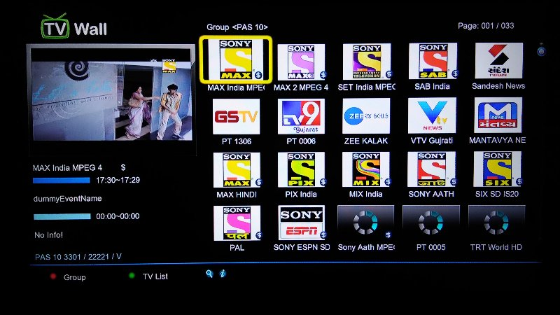 Picons Sony package 105e 66e 68e Spark Box - Golden