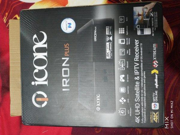 Icon Iron plus UHD 4k - Golden Multimedia Forum