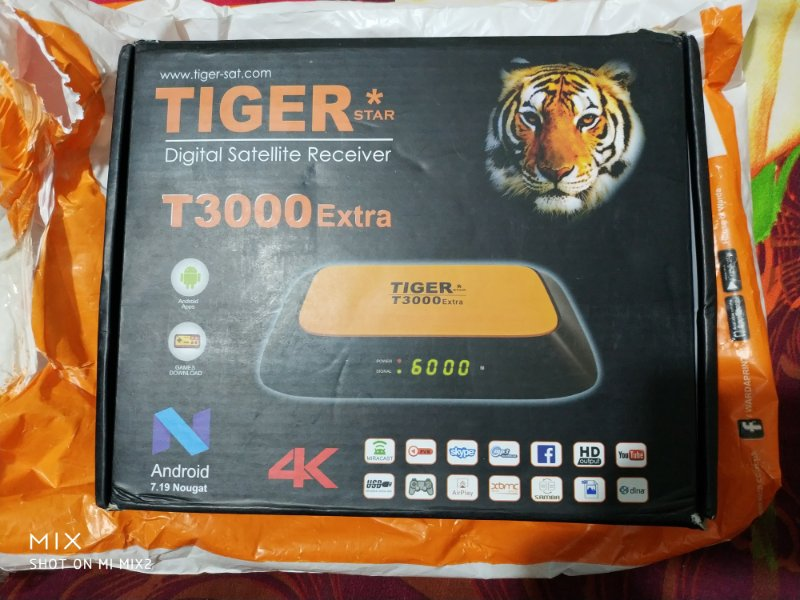 Tiger T3000 Extra 4k for sale - Golden Multimedia Forum