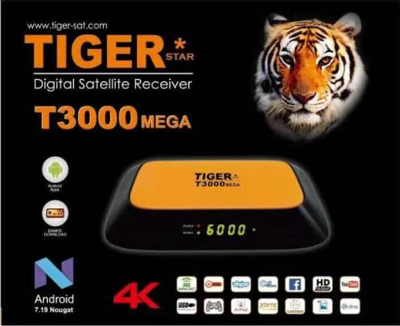 TIGER T3000 MEGA (4k Satellite Receiver) - Golden Multimedia Forum