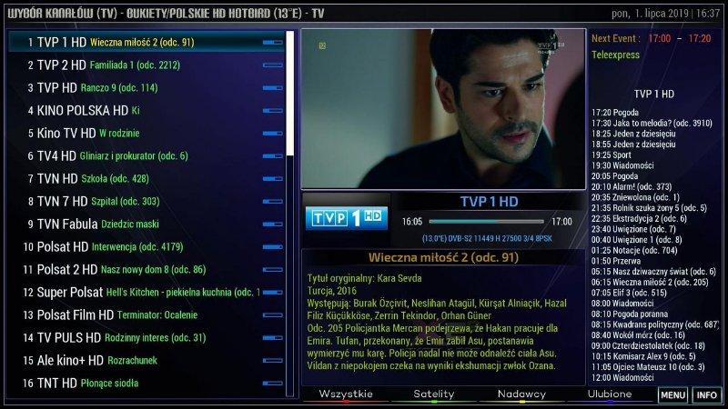 EkselanceXE Skin for OpenPLi 7 1 - Golden Multimedia Forum